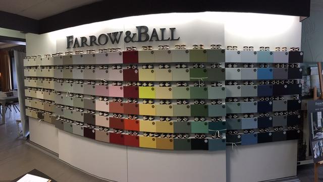 Farrow And Ball Kleurenwaaier.Farrow Ball De Kleurenwaaier